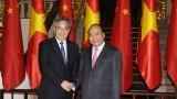 越南政府总理阮春福会见中国国务院副总理胡春华