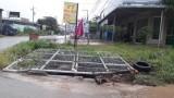 Sau vụ hai thanh niên bị lọt cống trên đường ĐH418: Lập rào chắn tại nhiều khu vực cống bị mất nắp
