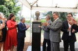 Bust of President Ho Chi Minh inaugurated in Mexico