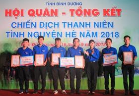 平阳举行2018年夏季青年志愿服务活动总结典礼