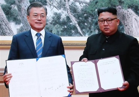 Trung Quốc hoan nghênh các thỏa thuận của thượng đỉnh liên Triều