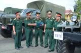 Hội đồng nghiệm thu Bộ quốc phòng: Nghiệm thu 28 xe quân sự tại Sư đoàn 309