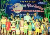 Đoàn thanh niên các cấp: Mang trung thu đến cho con em thanh niên công nhân