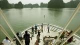 最高审计机关亚洲组织代表团参观广宁省下龙湾
