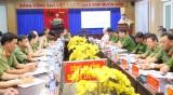 Công an tỉnh: Giữ vững tình hình an ninh chính trị