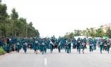 """Lực lượng vũ trang huyện Bàu Bàng: """"Đoàn kết, kỷ cương, sáng tạo, an toàn, quyết thắng"""""""