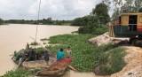 """Khai thác """"cát lậu"""" trên sông Sài Gòn đoạn qua xã Thanh Tuyền, huyện Dầu Tiếng: Cần xử lý dứt điểm"""