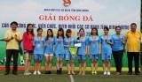 Đoàn khối các Cơ quan tỉnh: Bế mạc Giải bóng đá mini nam – nữ năm 2018