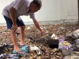 Lén xả chất thải gây ô nhiễm?