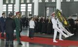 Hình ảnh các đoàn nước ngoài đến viếng nguyên Tổng Bí thư Đỗ Mười
