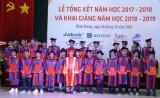 Trường Cao đẳng nghề Việt Nam-Singapore: Trao bằng tốt nghiệp cho 225 học sinh, sinh viên