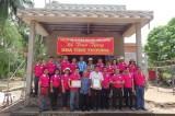 Câu lạc bộ từ thiện Hoa Sen: Tặng nhà tình thương cho hộ khó khăn ở tỉnh Trà Vinh