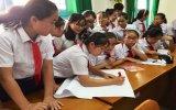 Trường THCS Phú Mỹ: Tổ chức truyền thông sức khỏe sinh sản vị thành niên cho học sinh