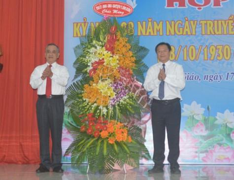 Họp mặt kỷ niệm 88 năm Ngày truyền thống Văn phòng cấp ủy