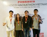 Sinh viên Đại học Việt Đức (VGU) đoạt giải Nhất cuộc thi UNESCO Hackathon Vietnam 2018