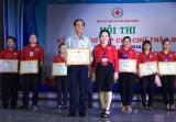 Hội Chữ thập đỏ tỉnh: Tổ chức hội thi kỹ năng sơ cấp cứu chữ thập đỏ lần II năm 2018