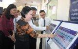 TP.Thủ Dầu Một:  Lắp đặt thí điểm hệ thống đánh giá chất lượng phục vụ hành chính tại phường Phú Cường và Chánh Nghĩa