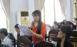 Lãnh đạo huyện Phú Giáo: Giải đáp thấu đáo nhiều vấn đề công nhân quan tâm