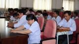 Tổ chức Hội thi viết - đọc chữ nổi nhanh cho người mù