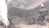 1.000m2 xưởng mút xốp bị lửa thiêu rụi