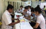 Gần 100 công nhân lao động công ty YAZAKI được khám sức khỏe miễn phí