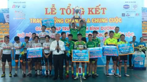 Bế mạc giải xe đạp Truyền hình Bình Dương lần thứ V - Cúp Tôn Đại Thiên Lộc
