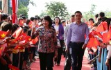 Concentrate and unite to promote the thought of Uncle Ho on the great national unity, Vice President Dang Thi Ngoc Thinh