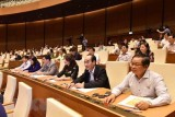 NA: resolutions on adjusting mid-term public investment plan, CPTPP adopted