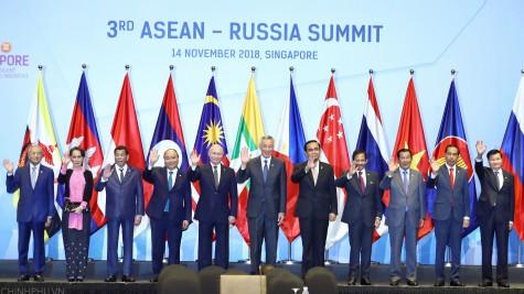 政府总理阮春福出席第三届东盟-俄罗斯领导人会议