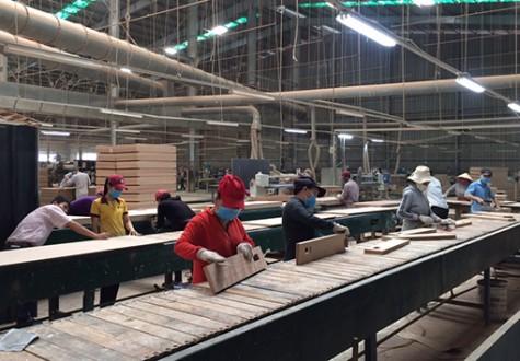 油汀县工业加快发展速度