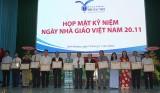 Trường Đại học Thủ Dầu Một họp mặt kỷ niệm Ngày Nhà giáo Việt Nam (20-11)