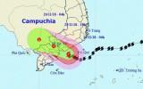 Bão số 9: Các tỉnh Đông Nam Bộ có gió giật mạnh, lốc xoáy