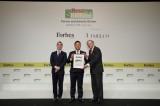 Bimico nhận giải Top 200 công ty tốt nhất Châu á năm 2018 do Forbes bình chọn: