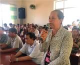 Đoàn Đại biểu Quốc hội tỉnh tiếp xúc cử tri ở TX.Thuận An
