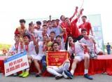 Bế mạc giải bóng đá học sinh THPT Hà Nội tranh Cup Number 1 Active