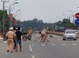 Cảnh sát giao thông công an huyện Phú Giáo: Phát hiện nhiều vụ vận chuyển hàng lậu, tang vật trộm cắp