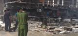 Cháy xưởng gỗ của Công ty Tân Vĩnh Nghĩa