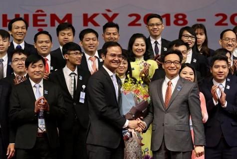 Bí thư T.Ư Đoàn Bùi Quang Huy làm Chủ tịch Hội SVVN khóa X