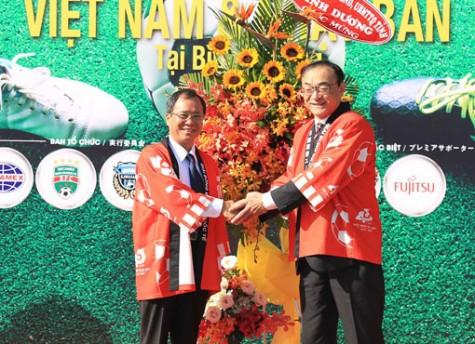 Khai mạc Giải bóng đá thiếu niên quốc tế U13 Việt Nam – Nhật Bản