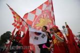 Chung kết Việt Nam - Malaysia: Sắc đỏ 'nhuộm' Mỹ Đình