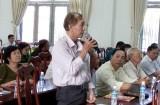 Đại biểu HĐND tiếp xúc cử tri ở TX.Thuận An sau kỳ họp cuối năm