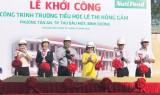 Nutifood tài trợ 10 tỷ đồng xây dựng Trường tiểu học Lê Thị Hồng Gấm