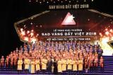 200 doanh nghiệp tiêu biểu nhận Giải thưởng Sao Vàng đất Việt 2018