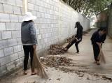 Hội LHPN phường Tân Định: Ra quân dọn dẹp vệ sinh môi trường