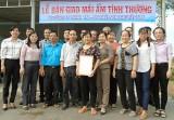 Hội Liên hiệp Phụ nữ xã Vĩnh Hòa (Phú Giáo): Trao tặng mái ấm tình thương cho phụ nữ có hoàn cảnh khó khăn