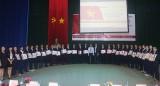 Trường Cao đẳng nghề Việt Nam - Singapore: Tổ chức lễ tiễn cựu sinh viên đi làm việc tại Nhật Bản