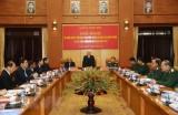 Ra Nghị quyết lãnh đạo thực hiện nhiệm vụ quân sự năm 2019