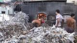 Bắt quả tang một công ty đốt lò bằng rác thải công nghiệp gây ô nhiễm môi trường