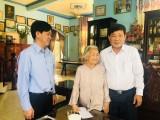 Lãnh đạo tỉnh thăm, tặng quà gia đình chính sách, hộ nghèo và trẻ em có hoàn cảnh khó khăn tại TX.Thuận An