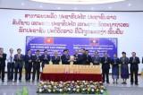 Lễ công bố tác phẩm Hồ Chí Minh toàn tập từ tiếng Việt sang tiếng Lào